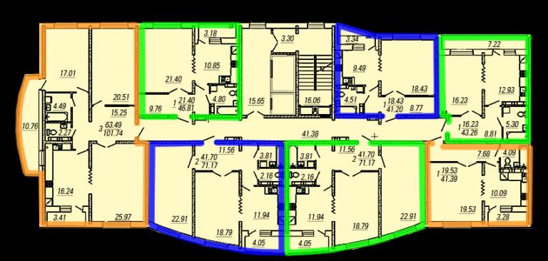 План типового этажа (1)