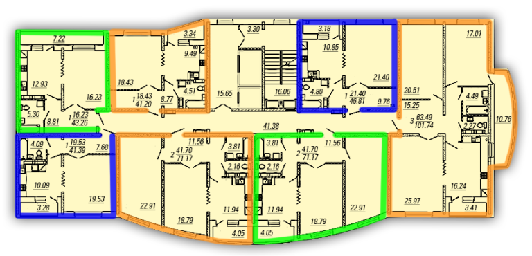 План типового этажа (2)