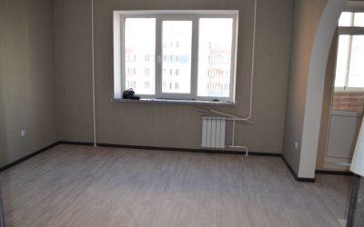 1 комнатная квартира 42,2 кв.м. пр.т А. Дериглазова, д.63 (стр.8), 3 мкр.