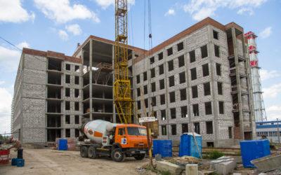 Строительство поликлиники на 600 посещений в смену
