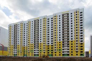 Заселение жилого дома №117