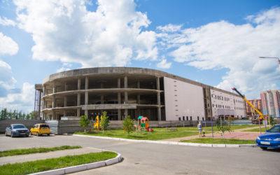 Cтроительство торгового центра ДАФ