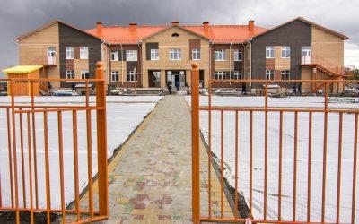 Строительство детского по ул. Подводников жилого района Северный