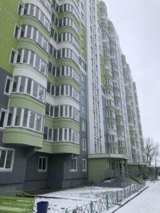 Заселение жилого дома №121