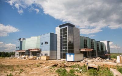 Универсальный торговый комплекс в районе Северный города Курска