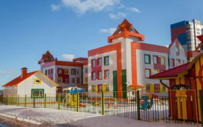 Строительство детского сада в мкр. 3 жилого района Северный